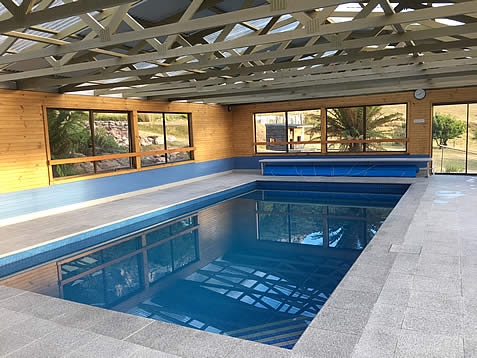 Indoor pool near Cradle Mountain