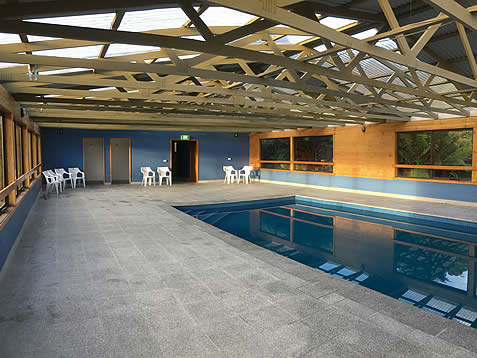 Indoor pool accomodation near Cradle Mountain