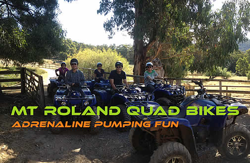 Quad bike riding in Tasmania